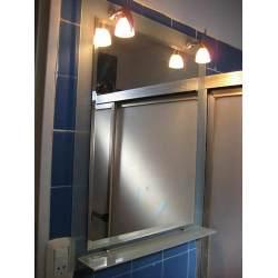 Types of bathroom lighting fixtures