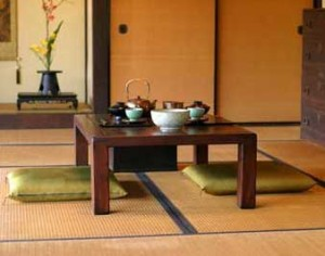 Japanese interior decorating style