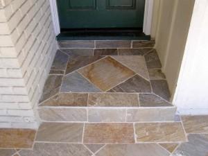 Classic door step