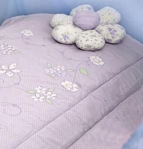 Girl's down comforter