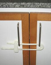 Cabinet locking