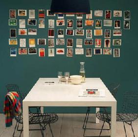 Postcards wall decor