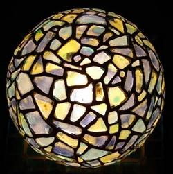 Lovely glass lamp