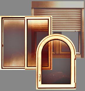 PVC and aluminium windows